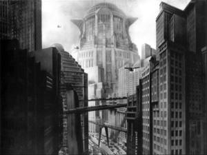Décors du film Metropolis de Fritz Lang (1927)